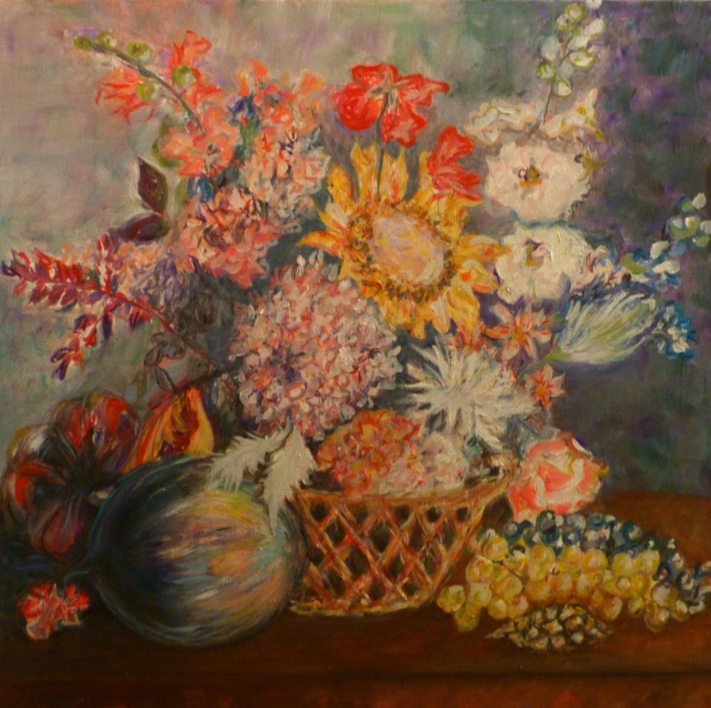 bouquet au tournesol
